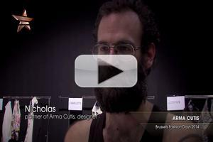 VIDEO: Designers ARMA CUTIS Brussels Fashion Days 2014