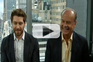 VIDEO: Kelsey Grammer & Matthew Morrison Talk Broadway's FINDING NEVERLAND