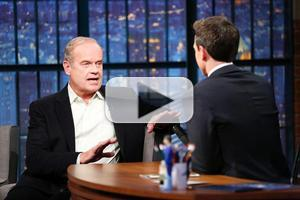VIDEO: FINDING NEVERLAND's Kelsey Grammer Talks Playing Captain Hook on 'Late Night'