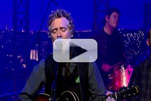 VIDEO: ONCE Composer Glen Hansard Performs New Single on LETTERMAN