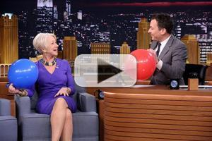VIDEO: Helen Mirren Talks THE AUDIENCE & More on 'Tonight Show'