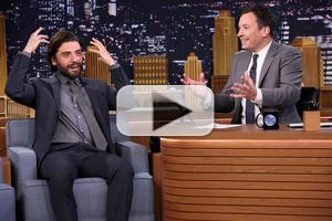 VIDEO: Oscar Isaac Talks New STAR WARS Film & More on 'Tonight'