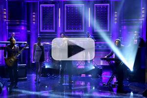 VIDEO: Wale Performs New Single 'Girls on Drugs' on TONIGHT SHOW