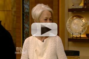 VIDEO: THE AUDIENCE's Helen Mirren Talks Meeting The Queen on 'Live'