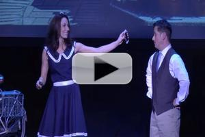 BWW TV Exclusive: Laura Benanti & Christopher Fitzgerald Get Down and Dirty as Liesl & Rolf? Watch '16 Going on 17' from MISCAST!