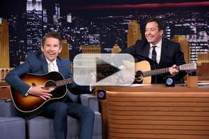 VIDEO: Jimmy & Ethan Hawke Perform 'Bob Dylan Lullabies' on TONIGHT