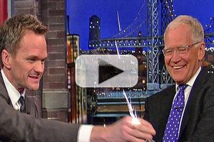 VIDEO: Watch Neil Patrick Harris' 'Shocking' Final Appearance on LETTERMAN