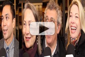 BWW TV: On the Red Carpet for Opening Night of WOLF HALL with Marin Mazzie, Cherry Jones & More!