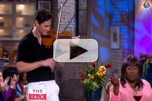 VIDEO: Violinist Charlie Siem Serenades Sheryl Underwood on THE TALK