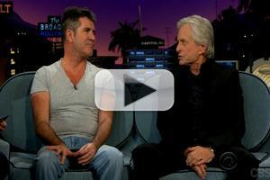 VIDEO: Michael Douglas Turned Down FROZEN, Cowell Reveals Musical Film in the Works with Ortega