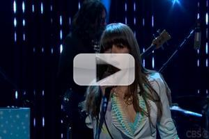 VIDEO: Jenny Lewis Performs 'She's Not Me' on JAMES CORDEN