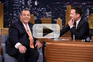 VIDEO: Governor Christie Talks 2016 Presidential Bid on TONIGHT SHOW