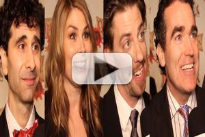 BWW TV: Welcome to the 1590s- Chatting with the Company of SOMETHING ROTTEN! on Opening Night!