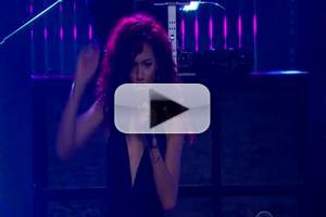 VIDEO: Natalie La Rose Performs 'Somebody' on LATE LATE SHOW