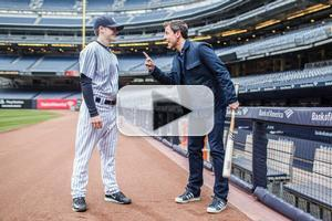 VIDEO: Seth Meyers Visits New York's Yankee Stadium on LATE NIGHT