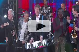 VIDEO: Earth, Wind & Fire and Chicago Perform on JIMMY KIMMEL