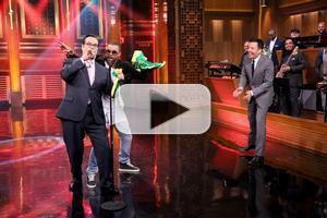 VIDEO: Steve Higgins & Shaggy Go Head-to-Head in 'Shaggy Off' on TONIGHT