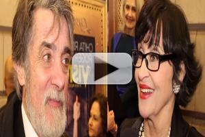 BWW TV: Out of the Darkness and Into Broadway Lights- Chatting with the Company of THE VISIT on Opening Night!