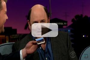 VIDEO: Jason Alexander Records Custom Voicemail Message for Kat Dennings on CORDEN!