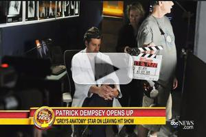 VIDEO: Patrick Dempsey Opens Up About Shocking GREY'S ANATOMY Exit