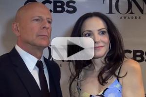 BWW TV: Bruce Willis & Mary-Louise Parker on Revealing the 2015 Tony Awards Nominations, Tackling Broadway & More!