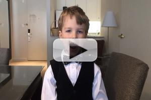 VIDEO: 6-Year-Old Theater Critic Iain Armitage Reflects on 2015 TONY Noms!