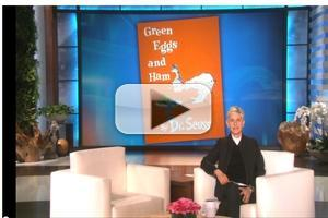 VIDEO: Netflix and Ellen DeGeneres to Adapt Dr. Seuss Classic GREEN EGGS AND HAM to Television