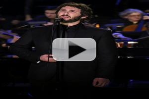 VIDEO: Josh Groban Performs 'Anthem' on TONIGHT SHOW
