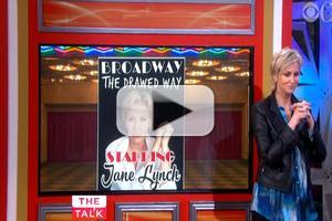 VIDEO: THE TALK Hosts Puts Jane Lynch's Broadway Knowledge to the Test!