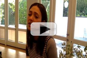 VIDEO: Emmy Rossum Covers 'Stand By Me' in Tribute to Ben E. King