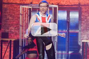 VIDEO: Sneak Peek - Stephen Merchant Covers Aguilera's 'Dirrty' on Next LIP SYNC BATTLE