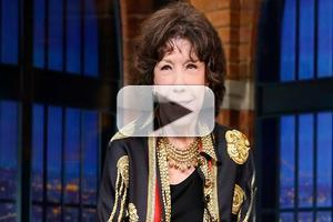 VIDEO: Lily Tomlin Talks Reuniting with Jane Fonda & More on LATE NIGHT