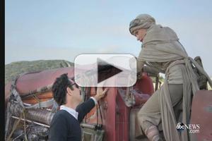 VIDEO: GMA Gets Exclusive Behind-the-Scenes Look at STAR WARS Set