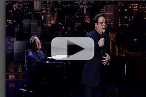 VIDEO: Nathan Lane Performs Original Shaiman/Wittman Musical Tribute to LETTERMAN!