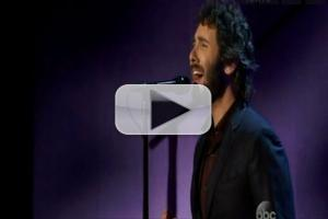 VIDEO: Josh Groban Performs 'Somewhere Over the Rainbow' on DWTS