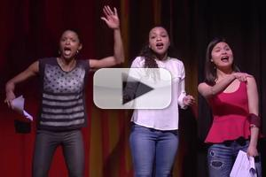 STAGE TUBE: HAMILTON's Schuyler Sisters Warm Up at Easter Bonnet Competition!