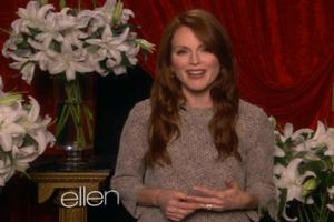 VIDEO: Julianne Moore, Steve Martin & More Talk Oscars on ELLEN