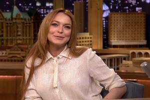 VIDEO: Lindsay Lohan Talks Possible 'Mean Girls' Reunion & More on FALLON!