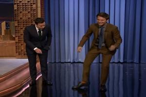 VIDEO: Ansel Elgort Reveals He's a Secret Tap Dance on FALLON