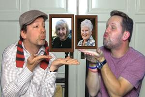 VIDEO: Sean Hayes & Scott Icenogle Honor Moms in LunchMoney Lewis Lip Sync!