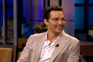VIDEO: Matthew McConaughey Reflects on First TONIGHT SHOW Appearance