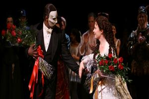 BWW TV: New PHANTOM Stars Norm Lewis and Sierra Boggess Take First Broadway Bows!