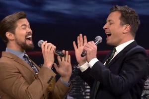 VIDEO: Watch Andrew Rannells & Jimmy Fallon Audition for GLEE's Series Finale
