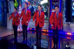 VIDEO: Cast of JERSEY BOYS Perform Medley of Hits on GMA!