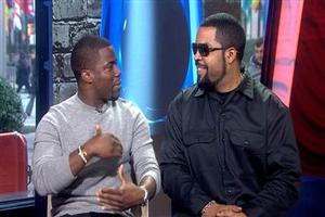 VIDEO: Kevin Hart, Ice Cube Talk New Film 'Ride Along' on TODAY