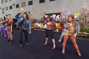 VIDEO: ROCK OF AGES Cast Performs Medley on 'Today'