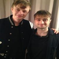 Twitter Watch: Spider-Man in Inishmaan? Dane DeHaan Visits Daniel Radcliffe Backstage!