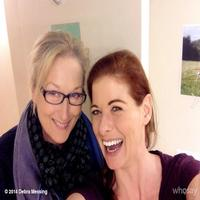 Twitter Watch: Meryl  Streep Visits Debra Messing at OUTSIDE MULLINGAR!