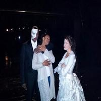 Twitter Watch: Bess and Phantom? Audra McDonald Visits Norm Lewis at THE PHANTOM OF THE OPERA