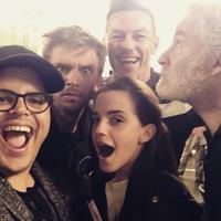 Twitter Watch: Josh Gad Takes Selfie with BEAUTY AND THE  BEAST Cast!
